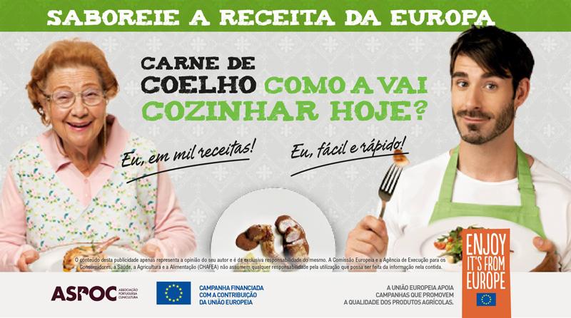 ASPOC lança campanha para promover Carne de Coelho