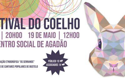 Nos próximos dias 18 e 19 de maio, realiza-se a III Edição do Festival do Coelho