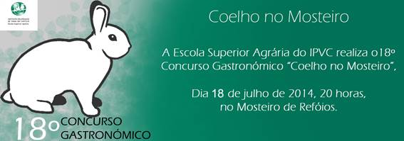 18º Concurso Gastronómico na ESA-IPVC